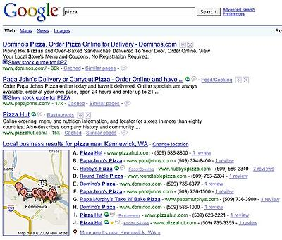 Google Local 2009 Search Engine Land