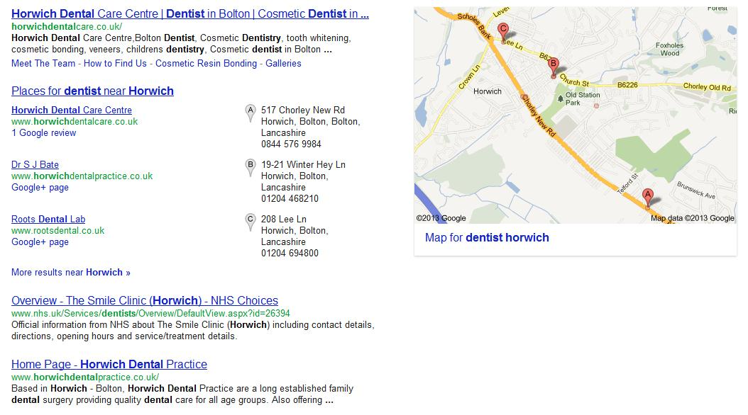 Google local today 2