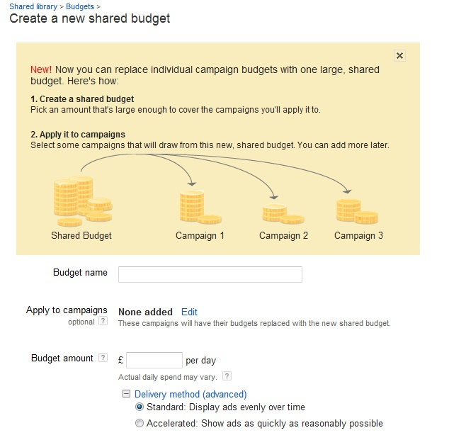 PPC Shared Budgets