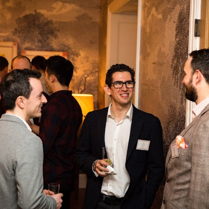 Guy networking