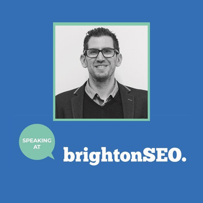 Brighton SEO talk banner