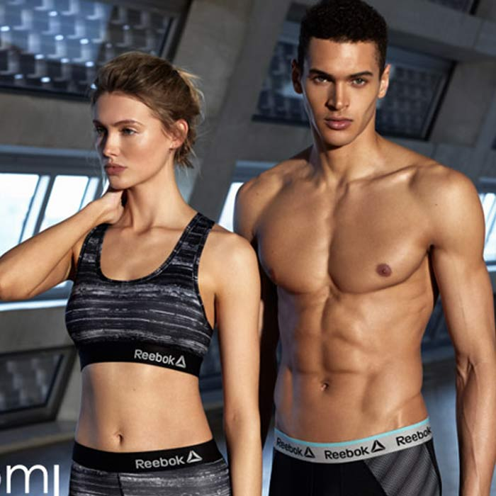 Body Branded Reebok models