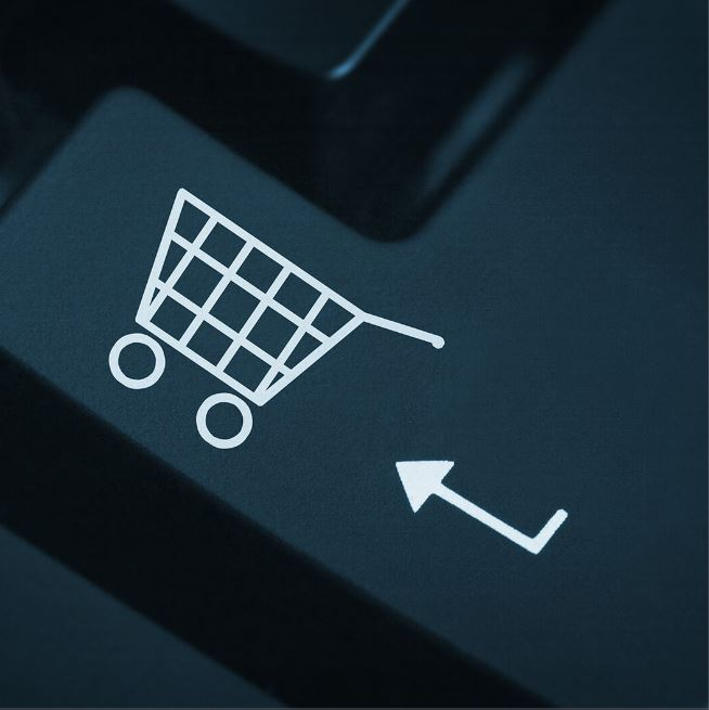 e-commerce keyboard button